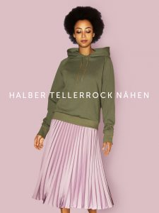 Schnittmuster Halber Tellerrock FASHIONMAKERY
