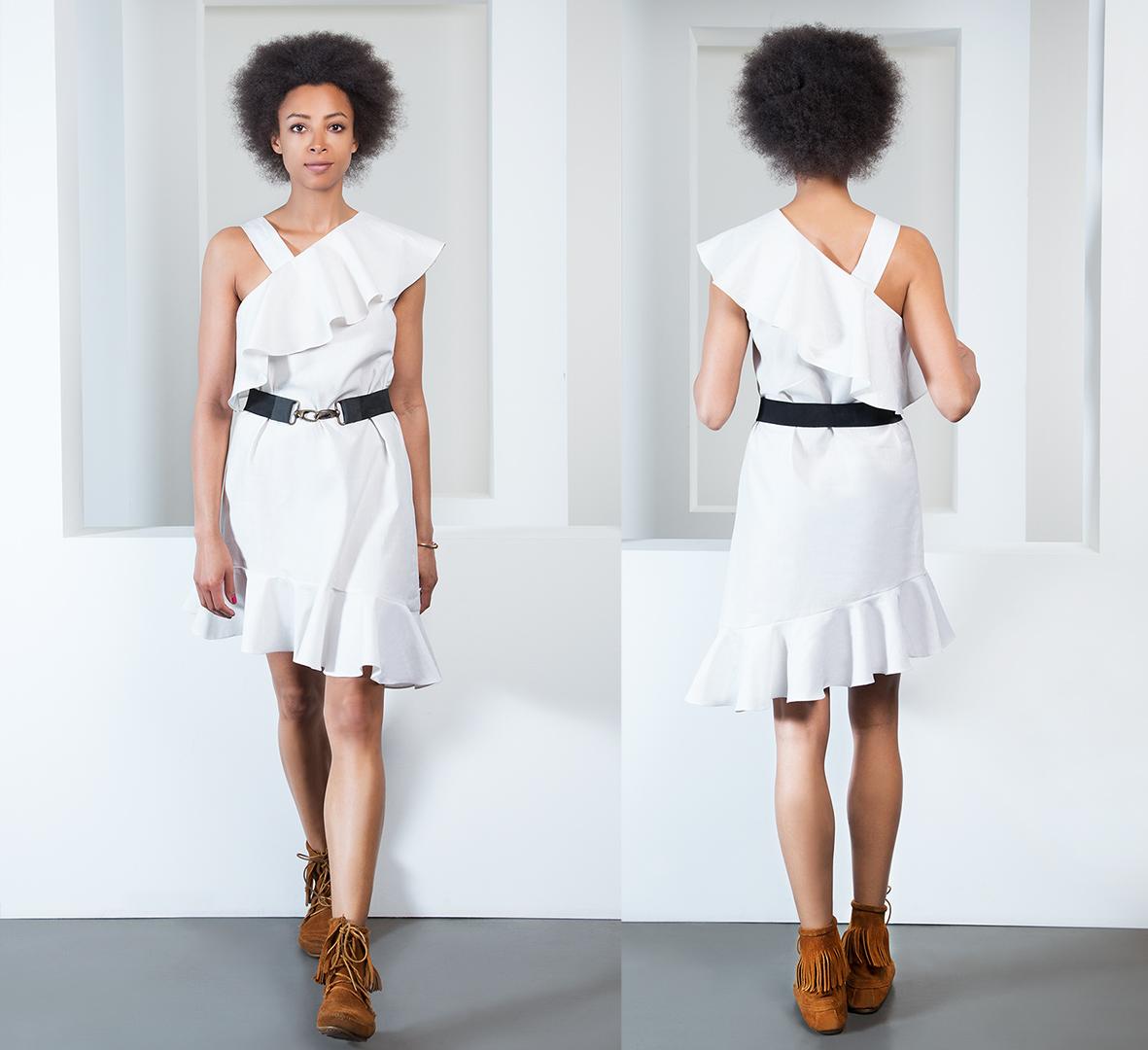 Schnittmuster Volantkleid | Fashionmakery