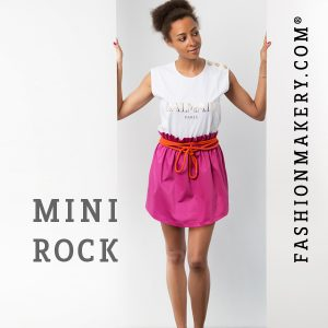 Minirock im Safari-Look FASHIONMAKERY