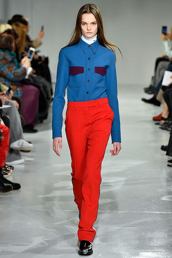 Calvin Klein Kollektion 2018 inspiriert von den 60er Jahren und der Pop-Art Kunst.