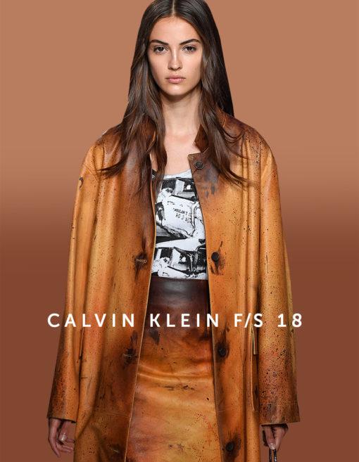 Calvin Klein Kollektion Frühjahr/Sommer 2018 von Raf Simons
