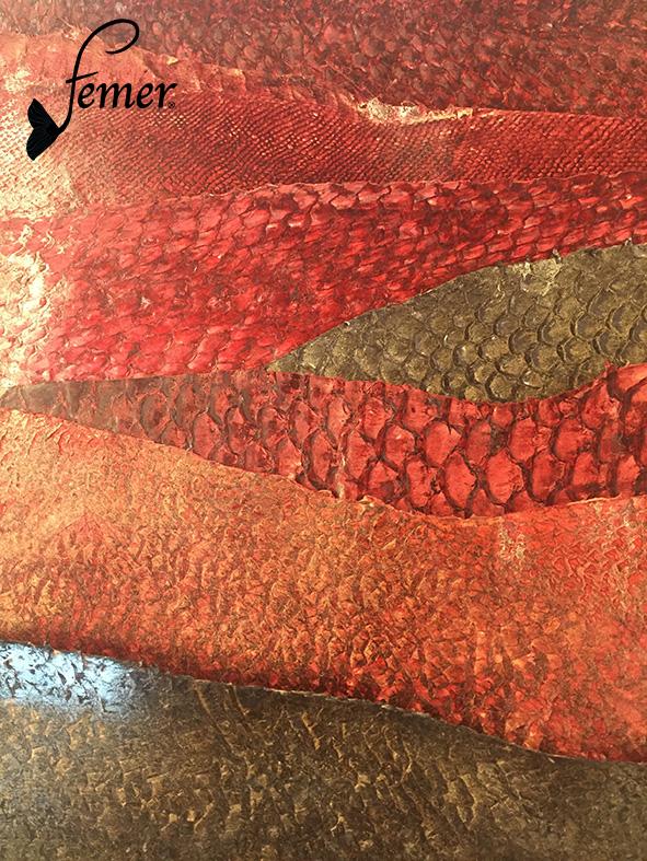 Fischleder der Fischgerberei Femer aus Frankreich
