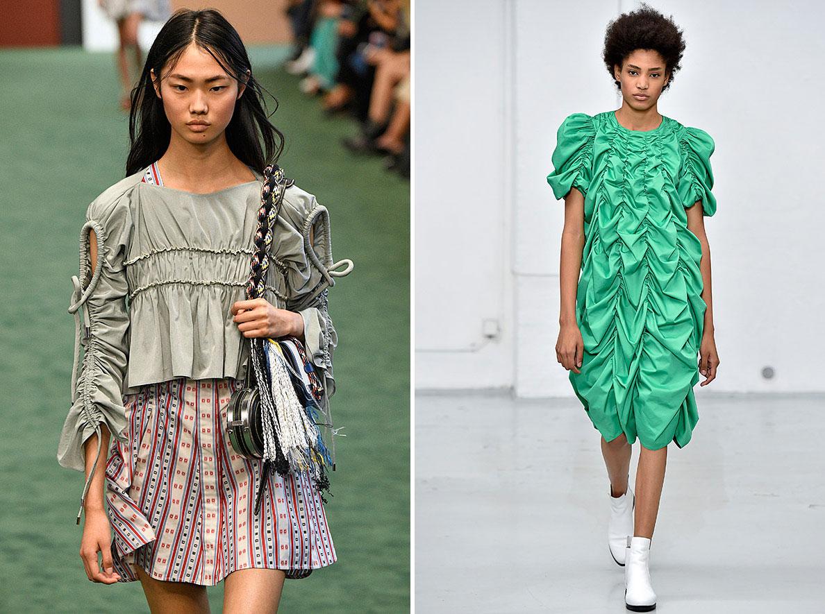 Neue Kollektion Frühjahr/Sommer 2018 von Serge Ruffieux für das Modehaus Carven.