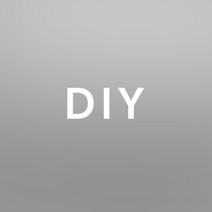 Die Buchstaben DIY als Abkürzungen sind abgebildet.