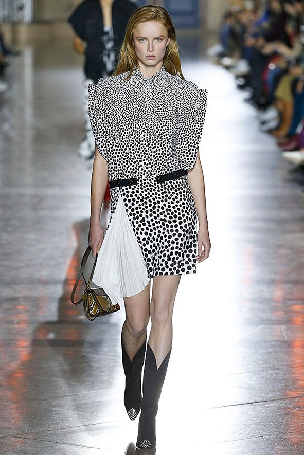 Givenchy Kleid mit Pünktchen
