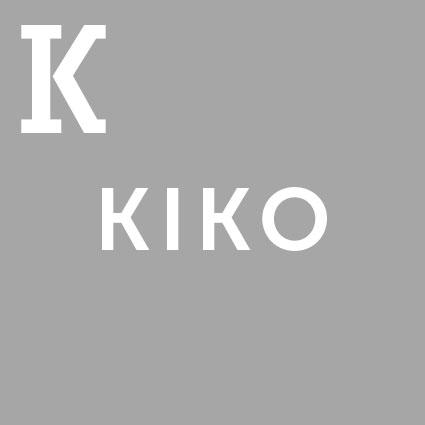 Die Abkürzung KIKO in Buchstaben.