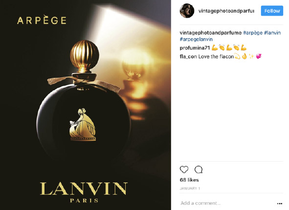 Abbildung des Parfums Arpège von Lanvin